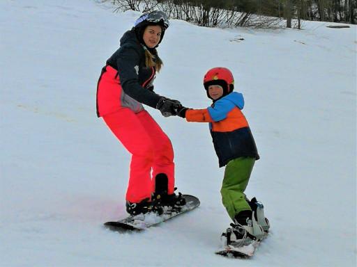 instruktorzy nauki jazdy na nartach i snowboardzie